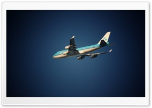 Airplane In The Sky HD Wide Wallpaper for Widescreen