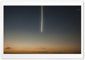 Airplane in the Sky HD Wide Wallpaper for 4K UHD Widescreen desktop & smartphone