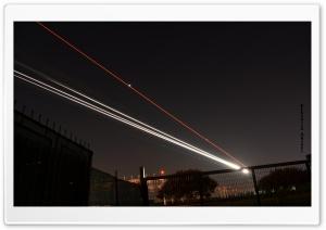 Airplane Lights Ultra HD Wallpaper for 4K UHD Widescreen desktop, tablet & smartphone