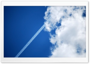 Airplane Tracks HD Wide Wallpaper for Widescreen