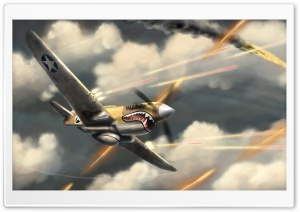 Airplanes Fight HD Wide Wallpaper for Widescreen