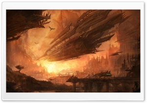 Airship HD Wide Wallpaper for Widescreen