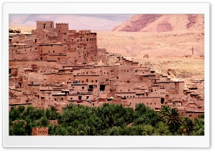 Ait Benhaddou Ultra HD Wallpaper for 4K UHD Widescreen desktop, tablet & smartphone