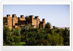 Ait Benhaddou, Morocco HD Wide Wallpaper for Widescreen