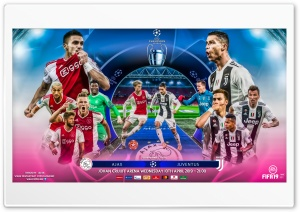 AJAX AMSTERDAM - JUVENTUS CHAMPIONS LEAGUE 2019 HD Wide Wallpaper for 4K UHD Widescreen desktop & smartphone