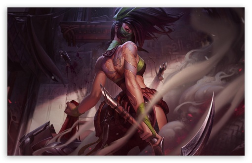 Download Akali HD Wallpaper