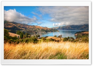 Akaroa, New Zealand HD Wide Wallpaper for Widescreen