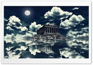 Akropolis HD Wide Wallpaper for Widescreen