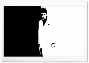 Al Pacino Scarface 03 HD Wide Wallpaper for 4K UHD Widescreen desktop & smartphone