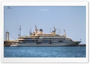 Al Said Yacht HD Wide Wallpaper for Widescreen