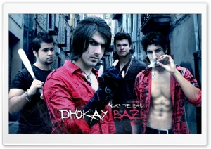 Alag The Band - Dhokay Bazi HD Wide Wallpaper for Widescreen