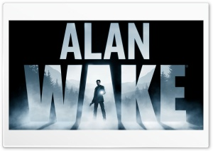 Alan Wake Game Cover HD Wide Wallpaper for 4K UHD Widescreen desktop & smartphone