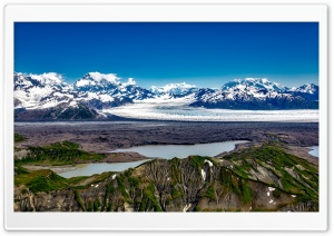 Alaska Glacier HD Wide Wallpaper for 4K UHD Widescreen desktop & smartphone