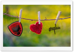 Albanian Love HD Wide Wallpaper for Widescreen