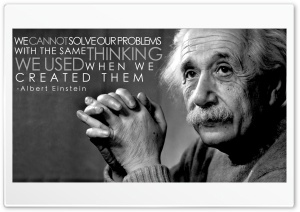 Albert Einstein HD Wide Wallpaper for 4K UHD Widescreen desktop & smartphone