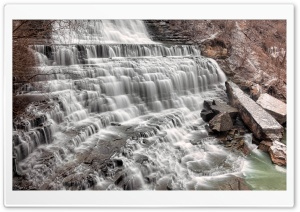 Albion Falls HD Wide Wallpaper for 4K UHD Widescreen desktop & smartphone