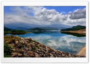 Alborz Dam HD Wide Wallpaper for Widescreen