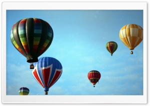 Albuquerque Balloon Festival HD Wide Wallpaper for 4K UHD Widescreen desktop & smartphone