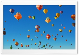 Albuquerque International Balloon Fiesta Special Shapes HD Wide Wallpaper for Widescreen