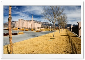Albuquerque New Mexico LDS Temple HD Wide Wallpaper for 4K UHD Widescreen desktop & smartphone