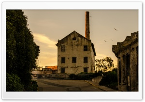 Alcatraz Warehouse HD Wide Wallpaper for Widescreen