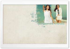 Alessandra Ambrosio HD Wide Wallpaper for Widescreen