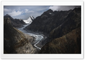 Aletsch Glacier, Swiss Alps,...
