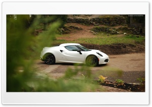 Alfa Romeo 4C Launch Edition HD Wide Wallpaper for Widescreen