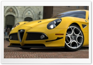 Alfa Romeo 8C HD Wide Wallpaper for Widescreen