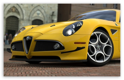 Alfa Romeo 8C HD wallpaper for Wide 16:10 5:3 Widescreen WHXGA WQXGA WUXGA WXGA WGA ; HD 16:9 High Definition WQHD QWXGA 1080p 900p 720p QHD nHD ; Mobile 5:3 16:9 - WGA WQHD QWXGA 1080p 900p 720p QHD nHD ;