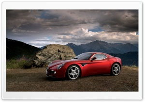 Alfa Romeo 8C Competizione Ultra HD Wallpaper for 4K UHD Widescreen desktop, tablet & smartphone
