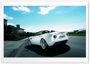 Alfa Romeo 8C Spider Car 1 HD Wide Wallpaper for Widescreen