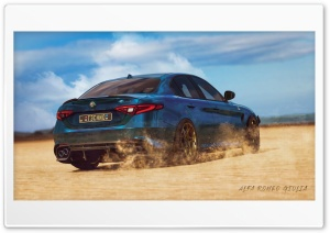 Alfa Romeo - Giulia Ultra HD Wallpaper for 4K UHD Widescreen desktop, tablet & smartphone