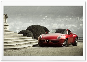 Alfa Romeo Disco Volante Touring 2013 HD Wide Wallpaper for Widescreen