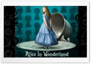 Alice in Wonderland HD Wide Wallpaper for Widescreen