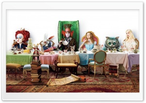 Alice In Wonderland HD Wide Wallpaper for 4K UHD Widescreen desktop & smartphone