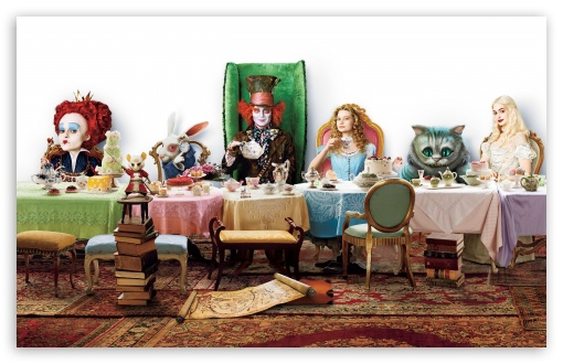 Alice In Wonderland HD wallpaper for Wide 16:10 5:3 Widescreen WHXGA WQXGA WUXGA WXGA WGA ; HD 16:9 High Definition WQHD QWXGA 1080p 900p 720p QHD nHD ; Standard 4:3 5:4 3:2 Fullscreen UXGA XGA SVGA QSXGA SXGA DVGA HVGA HQVGA devices ( Apple PowerBook G4 iPhone 4 3G 3GS iPod Touch ) ; iPad 1/2/Mini ; Mobile 4:3 5:3 3:2 16:9 5:4 - UXGA XGA SVGA WGA DVGA HVGA HQVGA devices ( Apple PowerBook G4 iPhone 4 3G 3GS iPod Touch ) WQHD QWXGA 1080p 900p 720p QHD nHD QSXGA SXGA ; Dual 4:3 5:4 UXGA XGA SVGA QSXGA SXGA ;