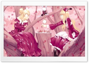 Alice In Wonderland Chess HD Wide Wallpaper for Widescreen