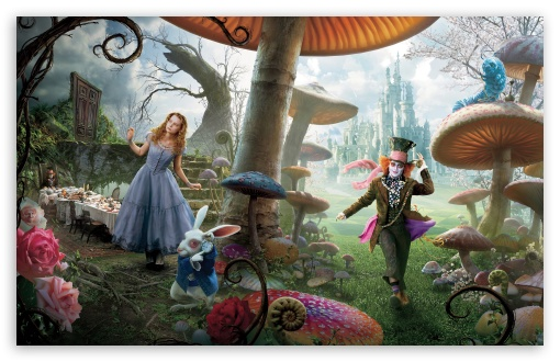 Alice In Wonderland Movie HD wallpaper for Standard 4:3 5:4 Fullscreen UXGA XGA SVGA QSXGA SXGA ; Wide 16:10 5:3 Widescreen WHXGA WQXGA WUXGA WXGA WGA ; HD 16:9 High Definition WQHD QWXGA 1080p 900p 720p QHD nHD ; Other 3:2 DVGA HVGA HQVGA devices ( Apple PowerBook G4 iPhone 4 3G 3GS iPod Touch ) ; Mobile VGA WVGA iPhone iPad PSP Phone - VGA QVGA Smartphone ( PocketPC GPS iPod Zune BlackBerry HTC Samsung LG Nokia Eten Asus ) WVGA WQVGA Smartphone ( HTC Samsung Sony Ericsson LG Vertu MIO ) HVGA Smartphone ( Apple iPhone iPod BlackBerry HTC Samsung Nokia ) Sony PSP Zune HD Zen ; Tablet 2 Android 3 DVGA HVGA HQVGA devices ( Apple PowerBook G4 iPhone 4 3G 3GS iPod Touch ) ; Dual 4:3 5:4 16:10 16:9 UXGA XGA SVGA QSXGA SXGA WHXGA WQXGA WUXGA WXGA WQHD QWXGA 1080p 900p 720p QHD nHD ;