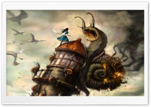 Alice Madness Returns HD Wide Wallpaper for Widescreen