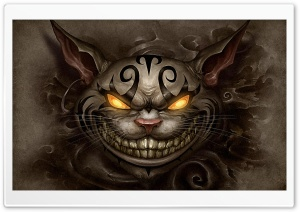 Alice Madness Returns Cheshire Cat Ultra HD Wallpaper for 4K UHD Widescreen desktop, tablet & smartphone