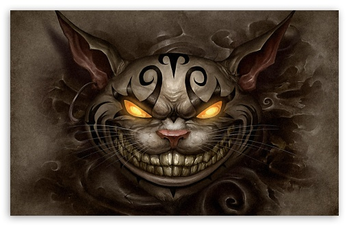 Alice Madness Returns Cheshire Cat HD wallpaper for Standard 4:3 5:4 Fullscreen UXGA XGA SVGA QSXGA SXGA ; Wide 16:10 5:3 Widescreen WHXGA WQXGA WUXGA WXGA WGA ; HD 16:9 High Definition WQHD QWXGA 1080p 900p 720p QHD nHD ; Other 3:2 DVGA HVGA HQVGA devices ( Apple PowerBook G4 iPhone 4 3G 3GS iPod Touch ) ; Mobile VGA WVGA iPhone iPad PSP Phone - VGA QVGA Smartphone ( PocketPC GPS iPod Zune BlackBerry HTC Samsung LG Nokia Eten Asus ) WVGA WQVGA Smartphone ( HTC Samsung Sony Ericsson LG Vertu MIO ) HVGA Smartphone ( Apple iPhone iPod BlackBerry HTC Samsung Nokia ) Sony PSP Zune HD Zen ; Tablet 2 ;