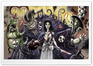 Alice Madness Returns Nightmare HD Wide Wallpaper for Widescreen