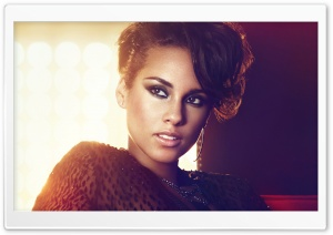 Alicia Keys 2012 HD Wide Wallpaper for 4K UHD Widescreen desktop & smartphone