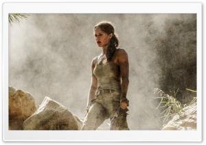 Alicia Vikander Tomb Raider 2018 HD Wide Wallpaper for Widescreen