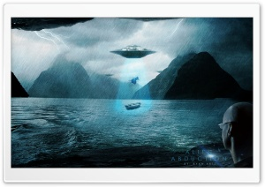 Alien Abduction HD Wide Wallpaper for 4K UHD Widescreen desktop & smartphone