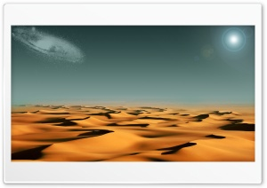 Alien Desert HD Wide Wallpaper for 4K UHD Widescreen desktop & smartphone