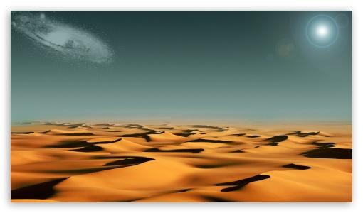 Alien Desert HD wallpaper for HD 16:9 High Definition WQHD QWXGA 1080p 900p 720p QHD nHD ; Tablet 1:1 ; iPad 1/2/Mini ; Mobile 4:3 5:3 3:2 16:9 - UXGA XGA SVGA WGA DVGA HVGA HQVGA devices ( Apple PowerBook G4 iPhone 4 3G 3GS iPod Touch ) WQHD QWXGA 1080p 900p 720p QHD nHD ;