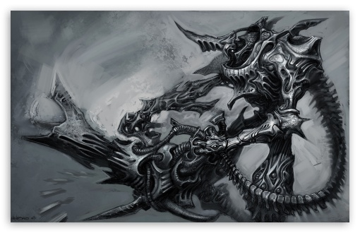 Alien Fantasy Art ❤ 4K UHD Wallpaper for Wide 16:10 5:3 Widescreen WHXGA WQXGA WUXGA WXGA WGA ; Mobile 5:3 - WGA ;