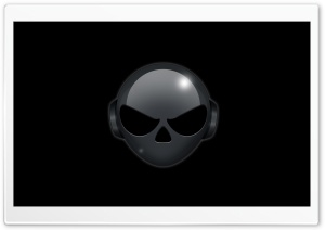Alien Head HD Wide Wallpaper for Widescreen